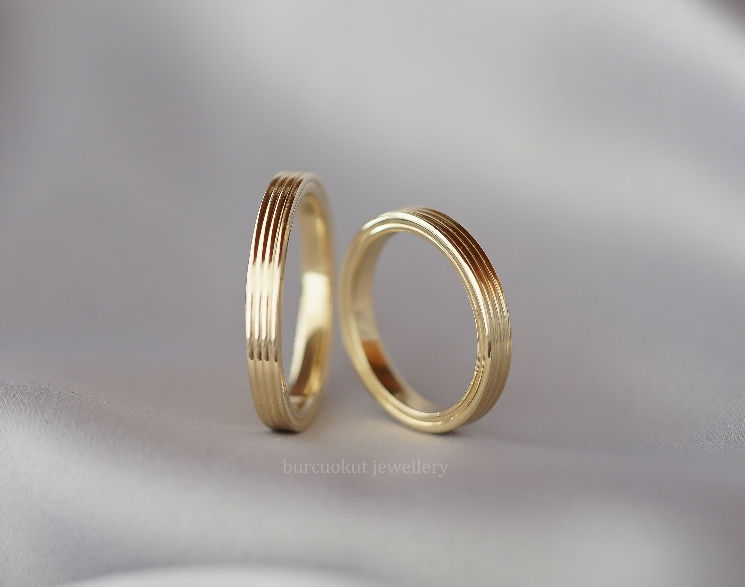 wedding bands luxury band yellow plain jewelry fresh gold rings ring in of