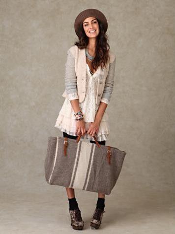 (awesome) Blanket bag