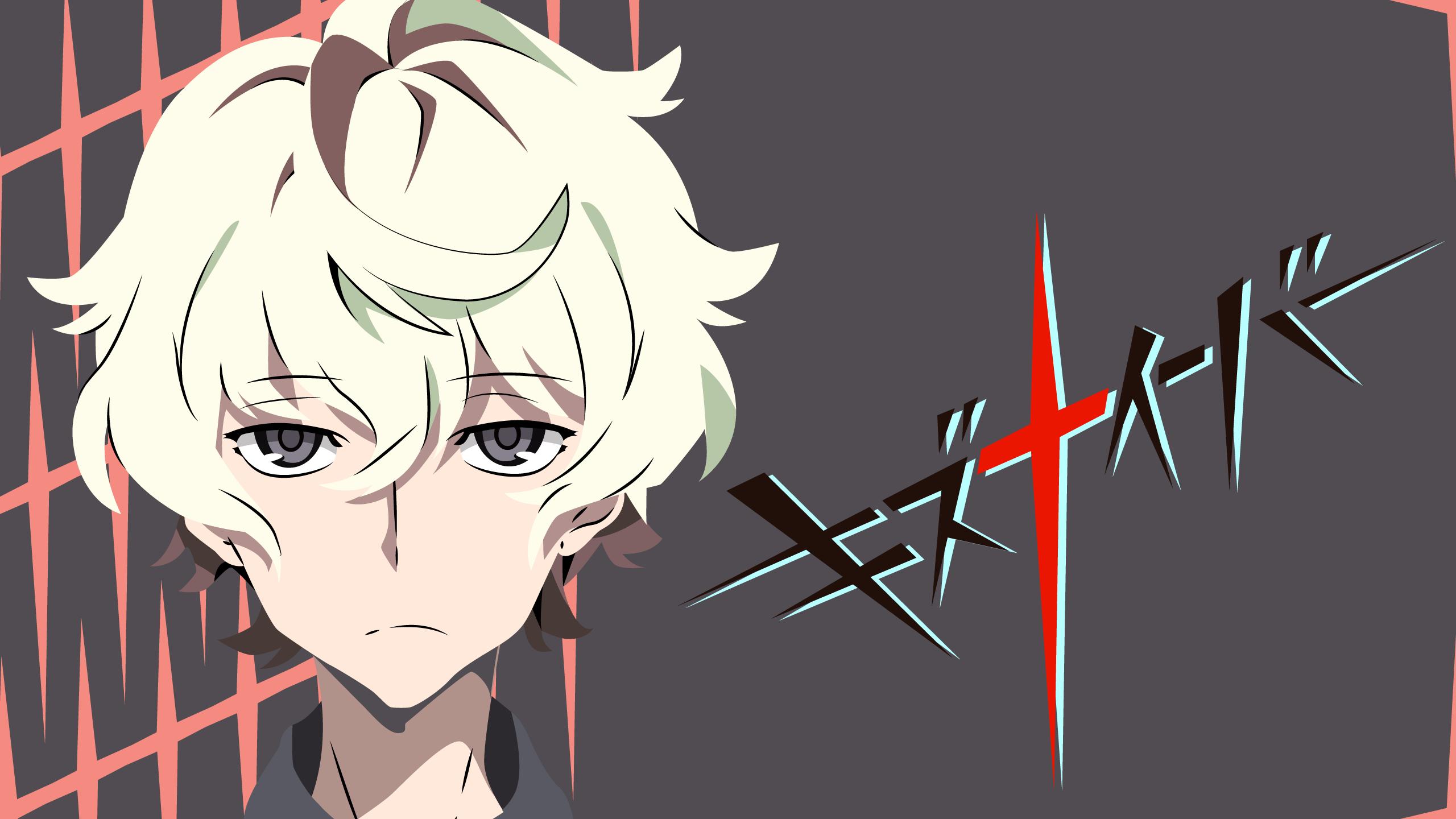 Kiznaiver Katsuhira Agata (white hair character) Wallpaper