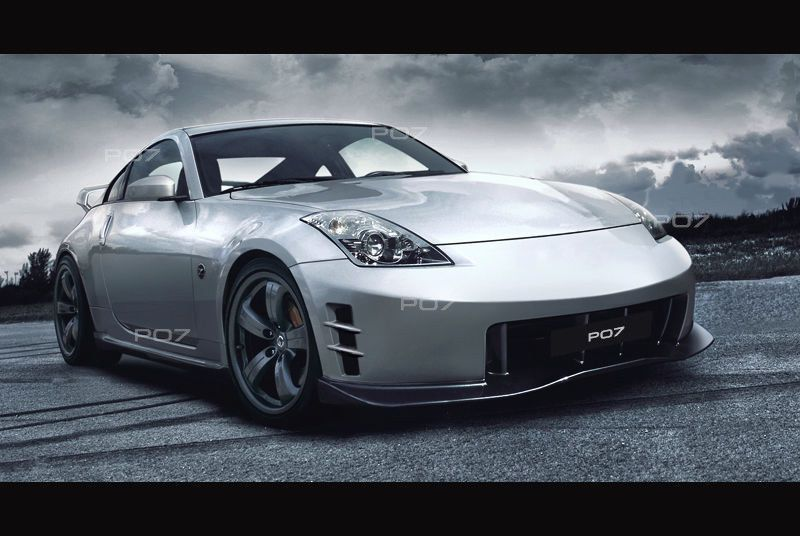 Photo of Nissan 350Z # NISMO # LOOK FRONT BUMPER REAR BUMPER SIDE SKIRTS Body Kit