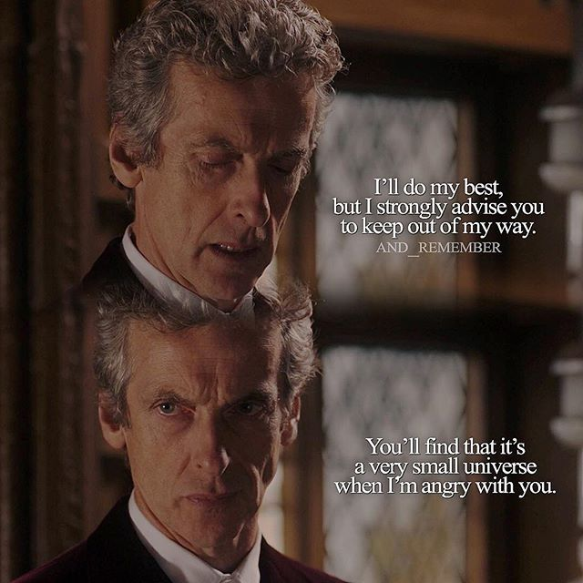 - S9E10: Face the Raven was voted 4th best out of 12 episodes with an average vote of 9.1/10 :) - When the Doctor is driven by emotion he is so unpredictable it's actually scary. Me: Don't worry, we're perfectly safe. The Doctor: Yes. A phrase I find is usually followed by a lot of screaming and running and bleeding. #doctorwho #petercapaldi