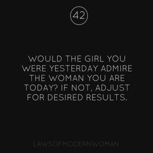 via Laws of Modern Woman