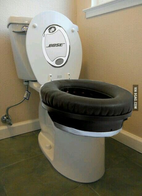 Dj Toilet Various Objects Funny Funny Pictures E Toilet