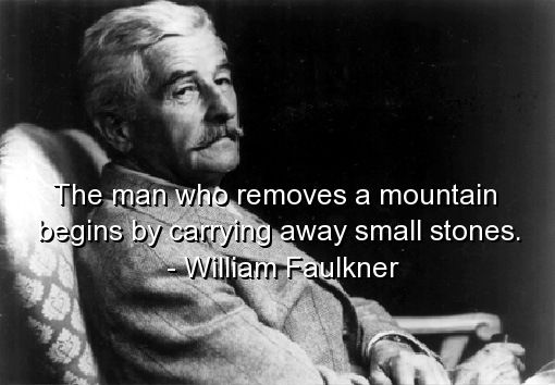 William Faulkner Quote Vintage Book Covers Pinterest William Mesmerizing William Faulkner Quotes
