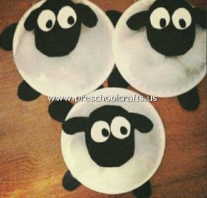 Animals Crafts From Paper Plate For Kids Preschool And