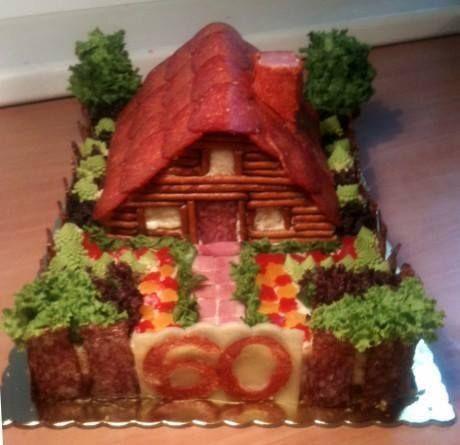 Slaný dort 2