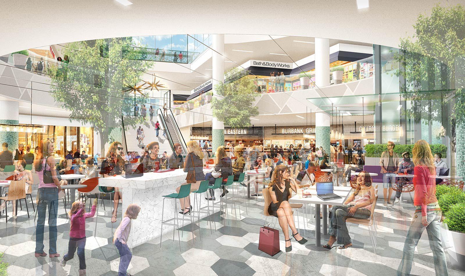 Burbank Town Center By 505design Burbank California