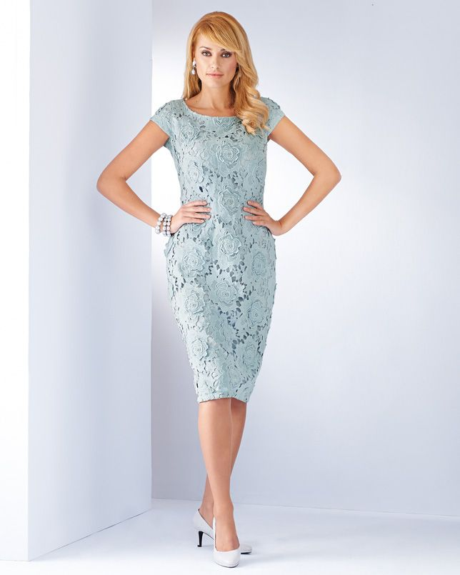 HELLO SPRING! Lace Detail Shift Dress