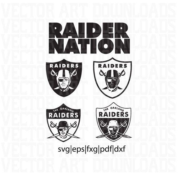 La Raiders Logo 5 Pack Vector In Svg Dxf Pdf By Vectorartdownloads How To Make Tshirts Cricut Design Svg Design