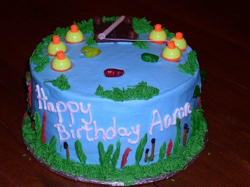 Fish Birthday Cake Design Birthday Cake Ideas Pinterest Fish