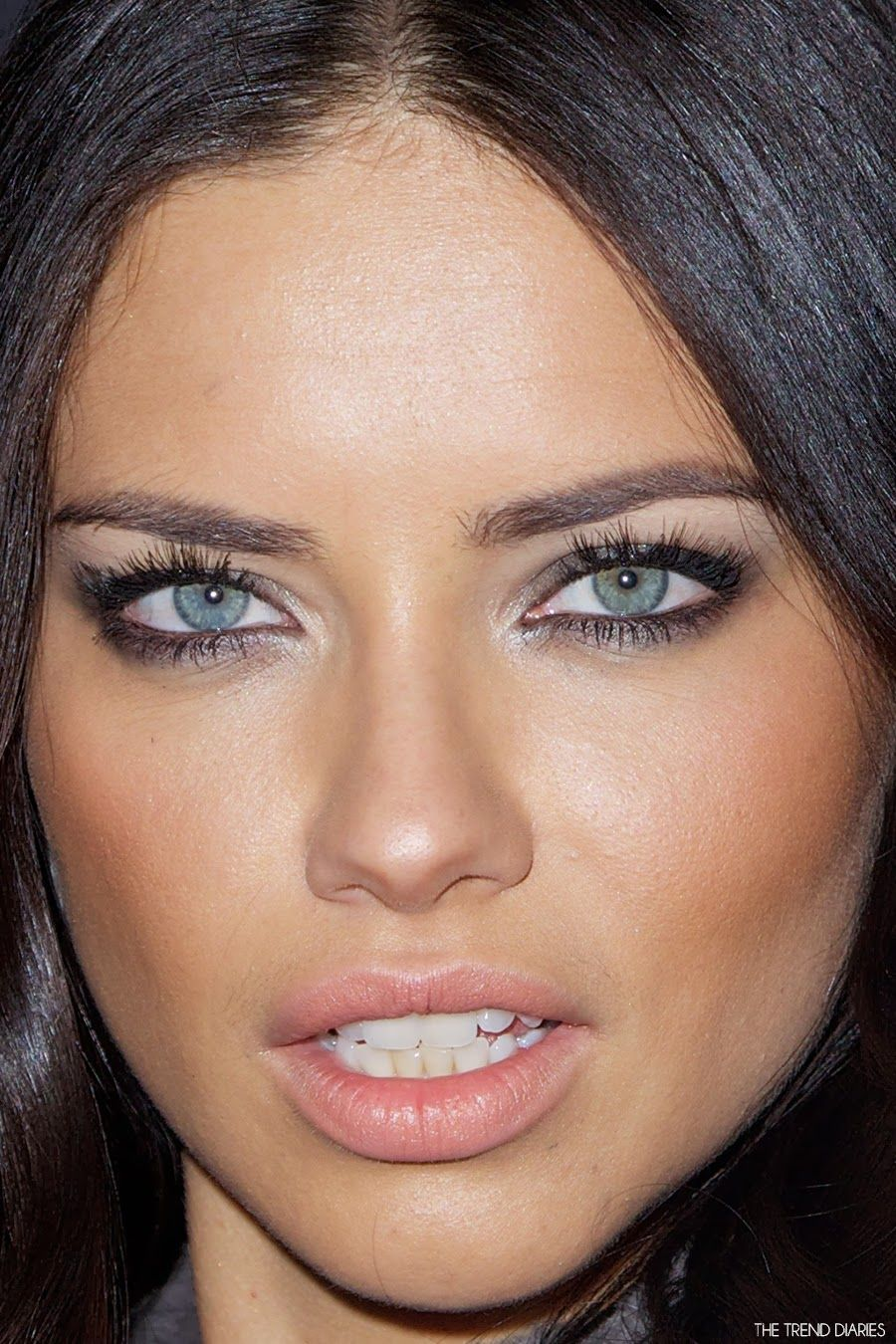 Adriana Lima at the 11th Annual Leather and Laces Party ...