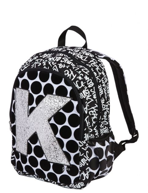 Polka Dot Initial Backpack S Backpacks School Supplies Accessories Justice