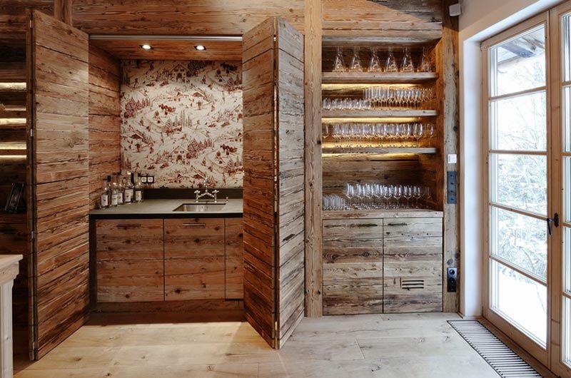 Altholz Küche | Cottage | Home Decor, Kitchen und Cottage