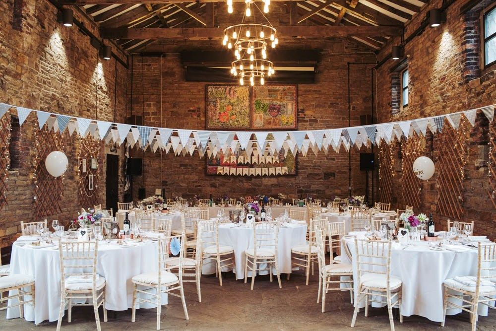 Oakwell Hall Wedding Rustic Barn Venue Leeds Yorkshire Uk