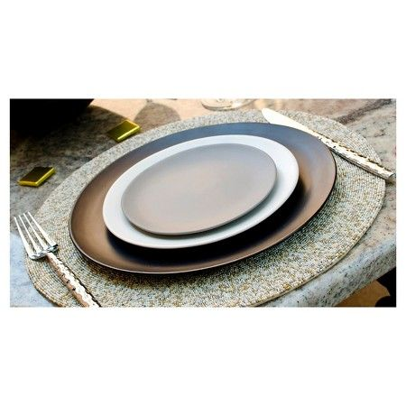 10 Strawberry Street Matte Wave Stoneware Charger Plates 12 8 Set Of 6 10 Strawberry Street Dinner Plate Sets Plates