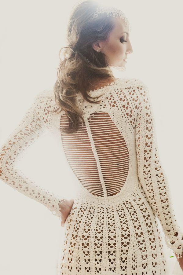 vestidos de noiva de crochê - Pesquisa Google