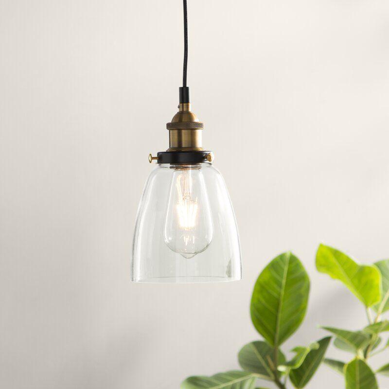 Bundaberg 1 Light Cone Pendant Reviews Birch Lane Pendant Lighting Stylish Pendant Lighting Cone Pendant