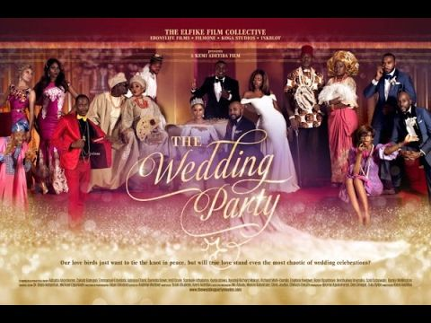 The Wedding Party 1 2017 Latest Nigerian Nollywood Movie Youtube Romantic Comedy Film Nigerian Movies Wedding Movies