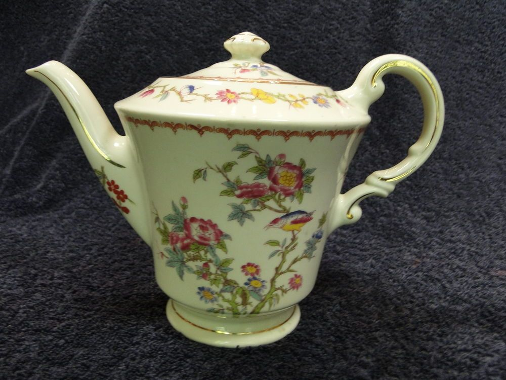 Syracuse China Old Ivory Bombay Teapot Rare Excellent Condition