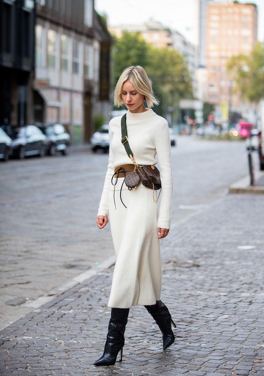 Accogliente e alla moda: questi 3 look all-over in maglia sono una tendenza in autunno