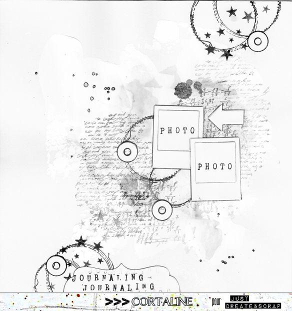 Sketch#223 – Challenge de Noël 4 | Sketches, Scrapbook sketches and ...