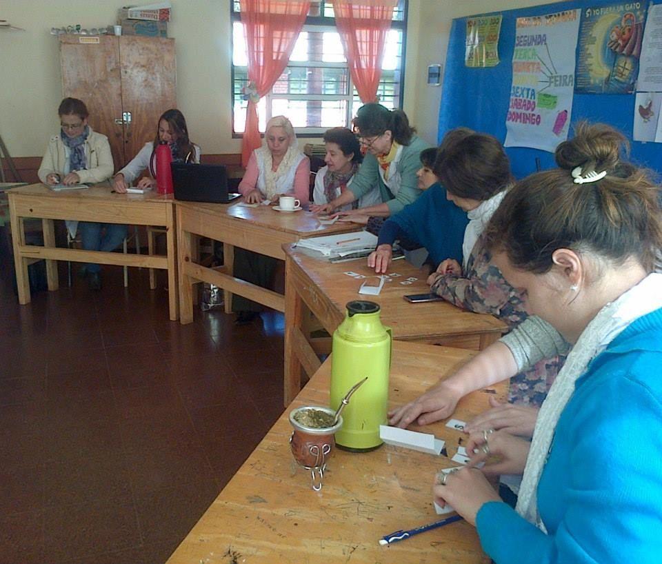Padrinazgo de escuela - Capacitación docente