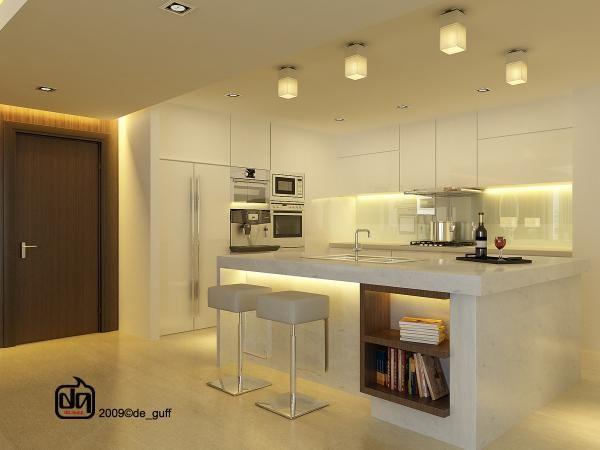 Breakfast bar lighting Kitchen lighting ideas Pinterest Ma