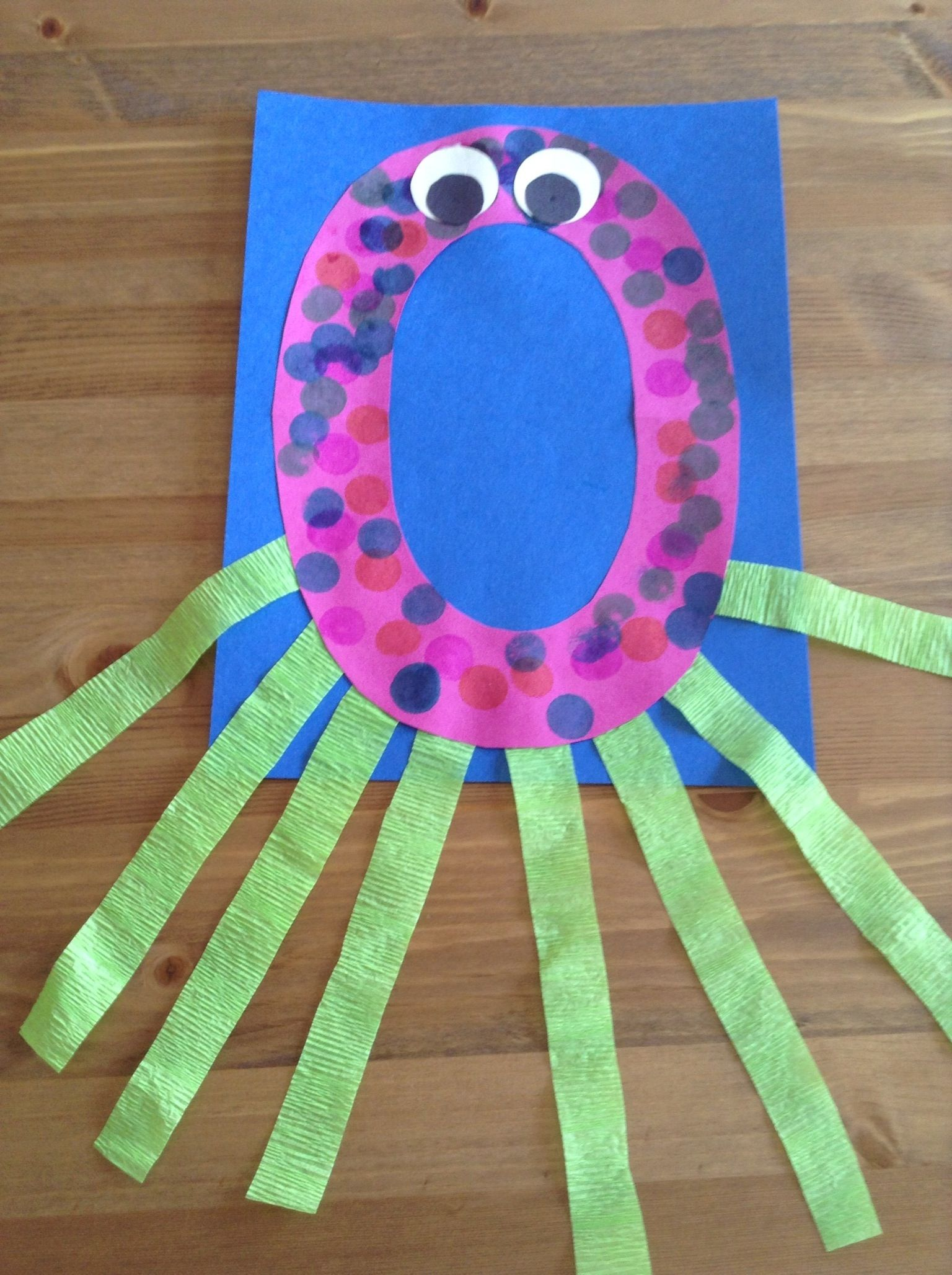 O Is For Octopus Craft Preschool Craft Letter Of The Week Craft