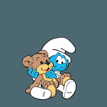 Baby smurf may 2016 schtoumpfs bebe et dietas - Schtroumpf bebe ...