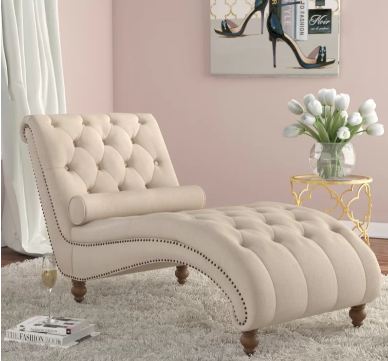 Details About Chaise Lounge Chair Modern Sofa Bedroom Living Room