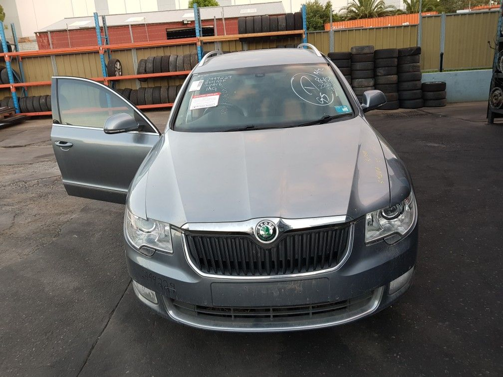 Skoda Superb B6 Type 3t 1 6l Turbo Diesel 4 Cylinder Automatic 08