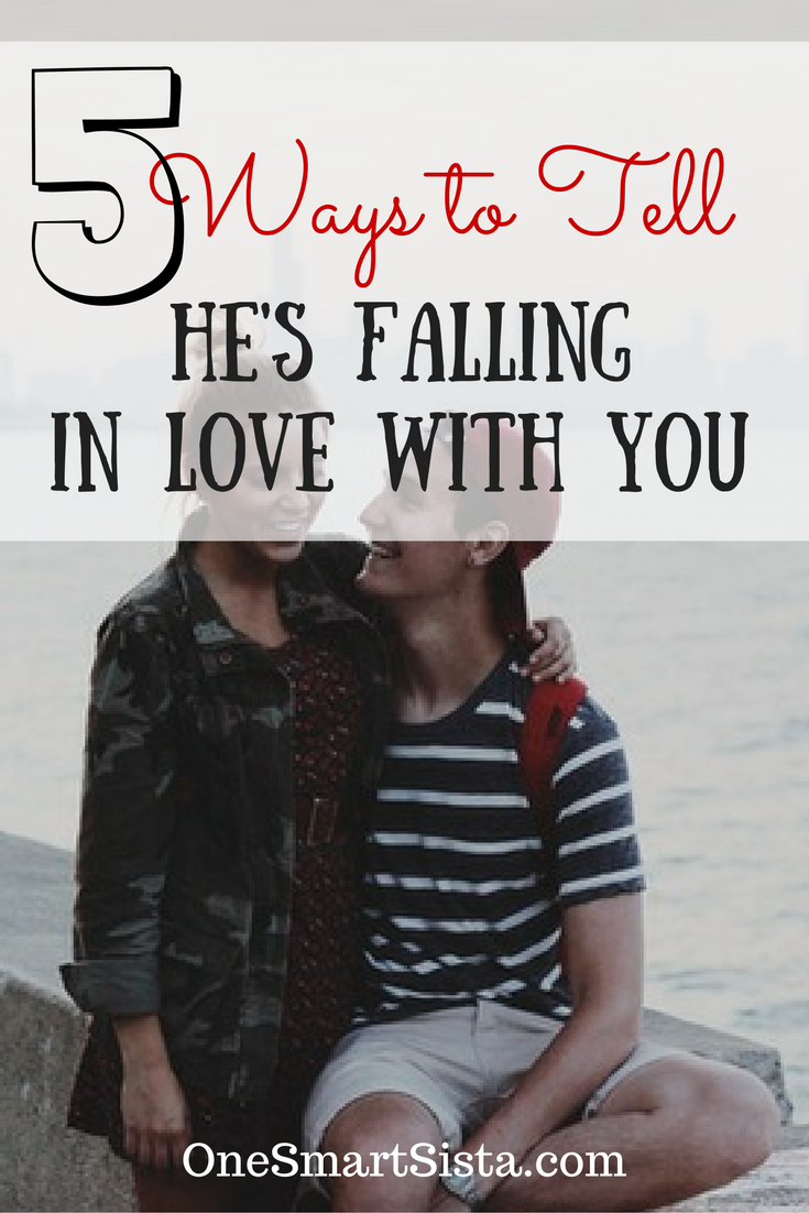 How to tell hes falling in love