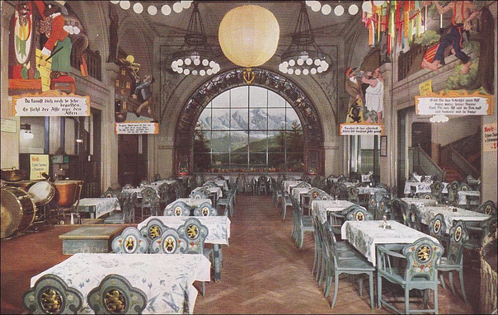 Haus Vaterland Betrieb Kempinski Am Potsdamer Platz Lowenbrau Innenaufnahmen Postkarten Berlin