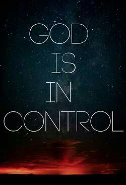 We know God is in control
