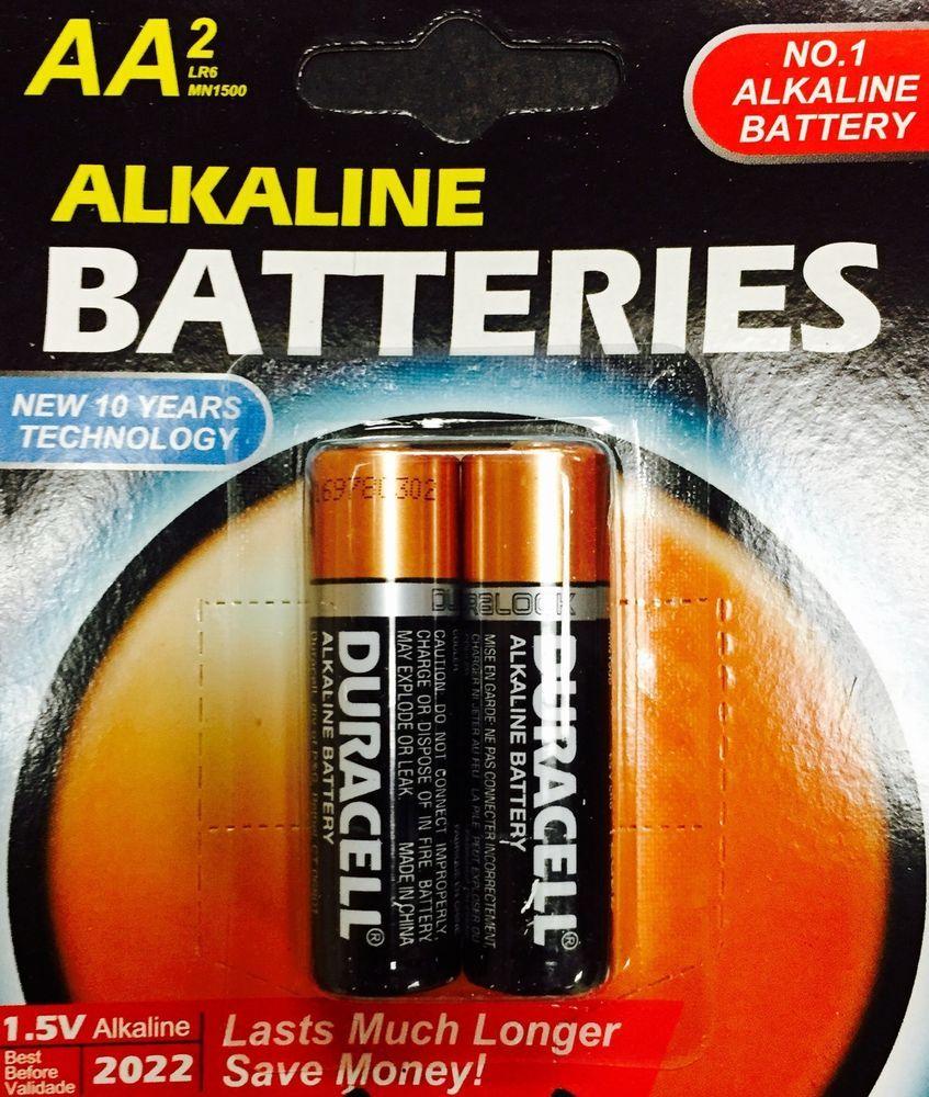 Alkaline Batteries Aa Blister Pack 2aa Cells X 48 96 Cells Packaged Lot Alkaline Battery Blister Pack Alkaline