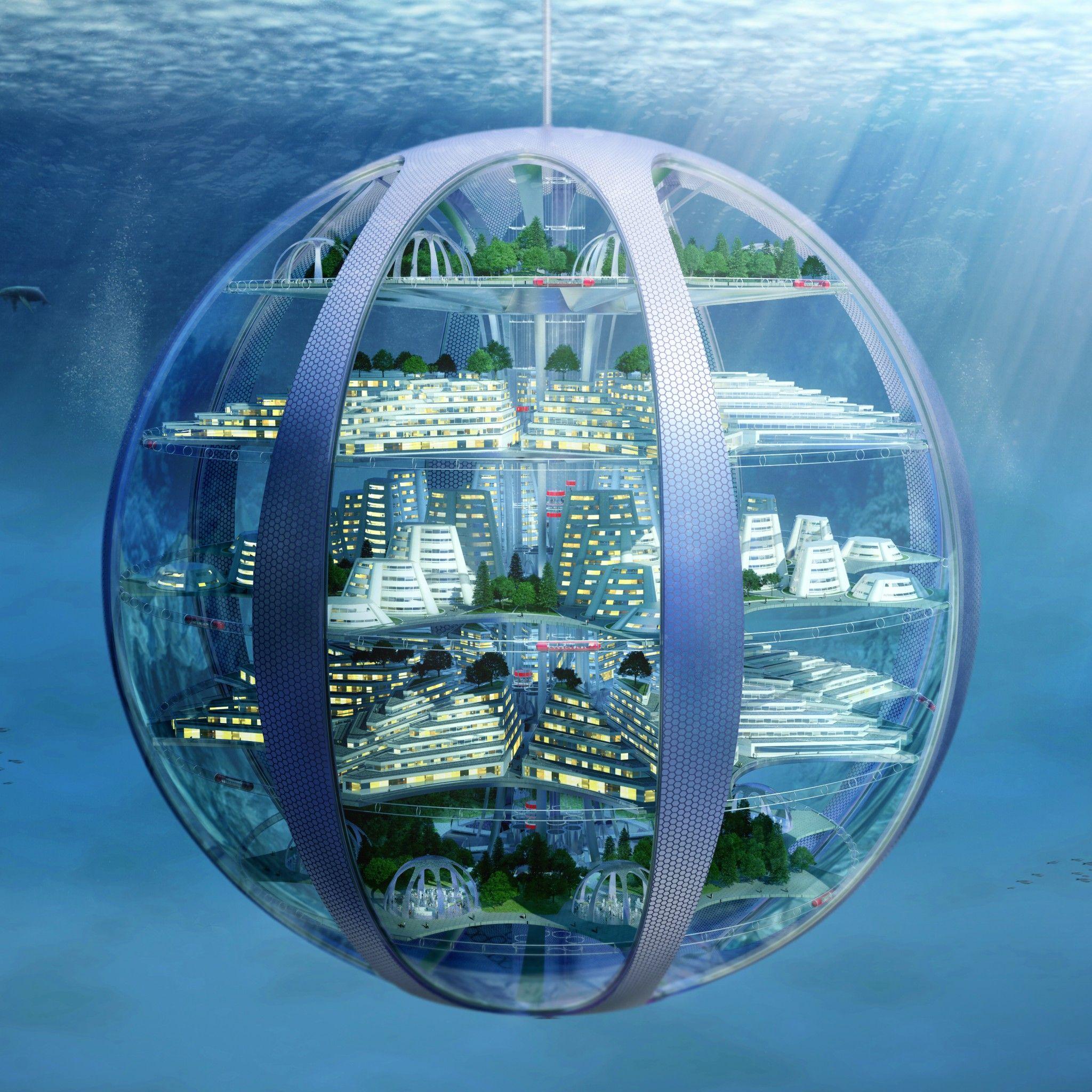 Futuristic Underwater Cities