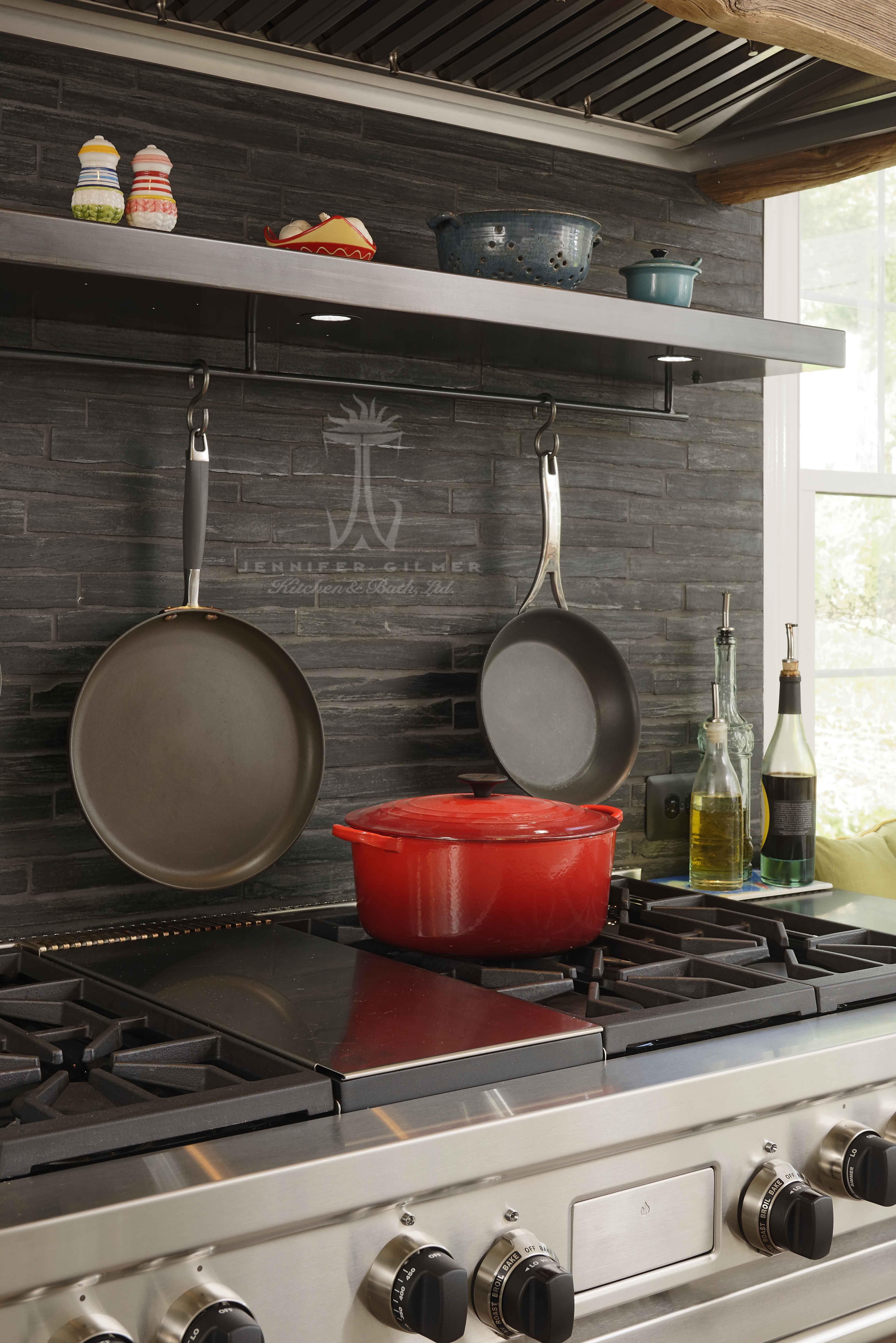 Kitchen Design By Sarahturner4jennifergilmer Includes Wolf Gr486g 48 Dual Fuel Pro Range And