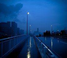 Inspiring Image Alone Blue City City Lights Cloudy Dark Dark Blue Darkness Glow Grunge Lon Blue Aesthetic Green Aesthetic Aesthetic Desktop Wallpaper