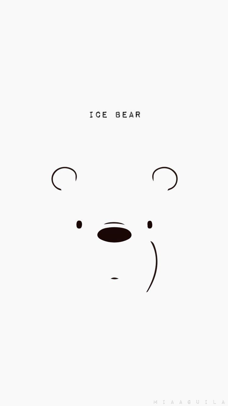Webarebearsphonewallpaper Webarebears Beruang Kutub Seni Kucing Binatang