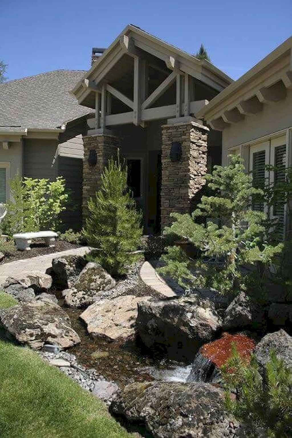 55 Fresh And Beautiful Front Yard Landscaping Ideas Low