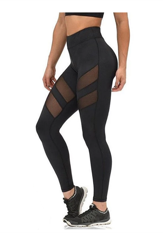 ece1707f365cb $6.5 High-end mesh yoga pants | Love Yoga | Mesh yoga pants, Yoga ...