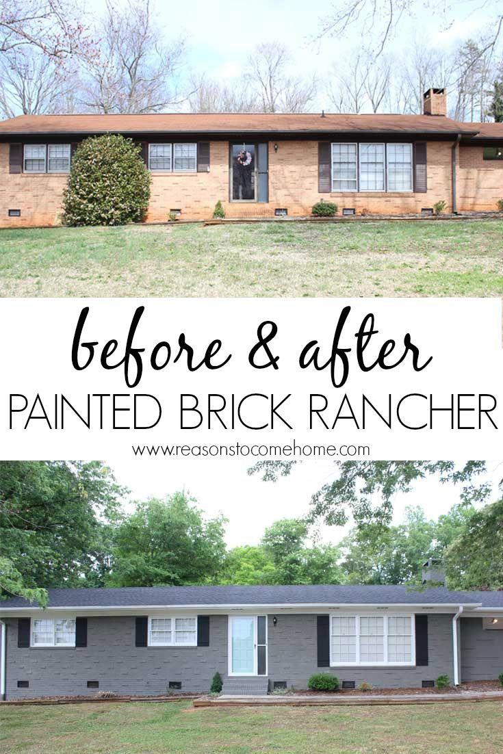 Make A Brick Rancher House Step By Step Brick Ranch