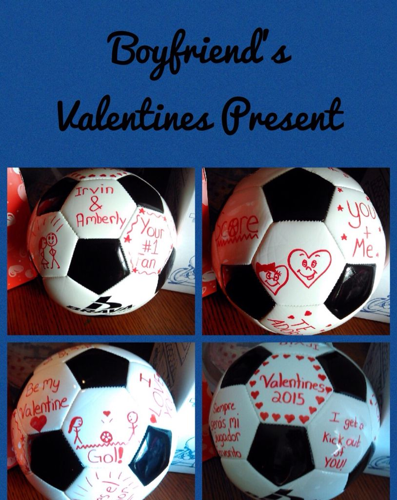 Perfect gift for a soccer player bf pinterest for Perfect gift for my boyfriend