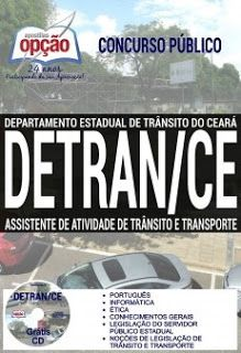 Apostila Detran Ce 2017 Assistente De Atividade De Transito E