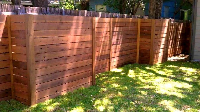 Diy Privacy Fence Ideas Easy Horizontal Ideas Fence Design Diy