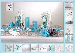 grundidee der tischdeko t rkis silber wei hochzeit pinterest t rkis tischdeko und silber. Black Bedroom Furniture Sets. Home Design Ideas