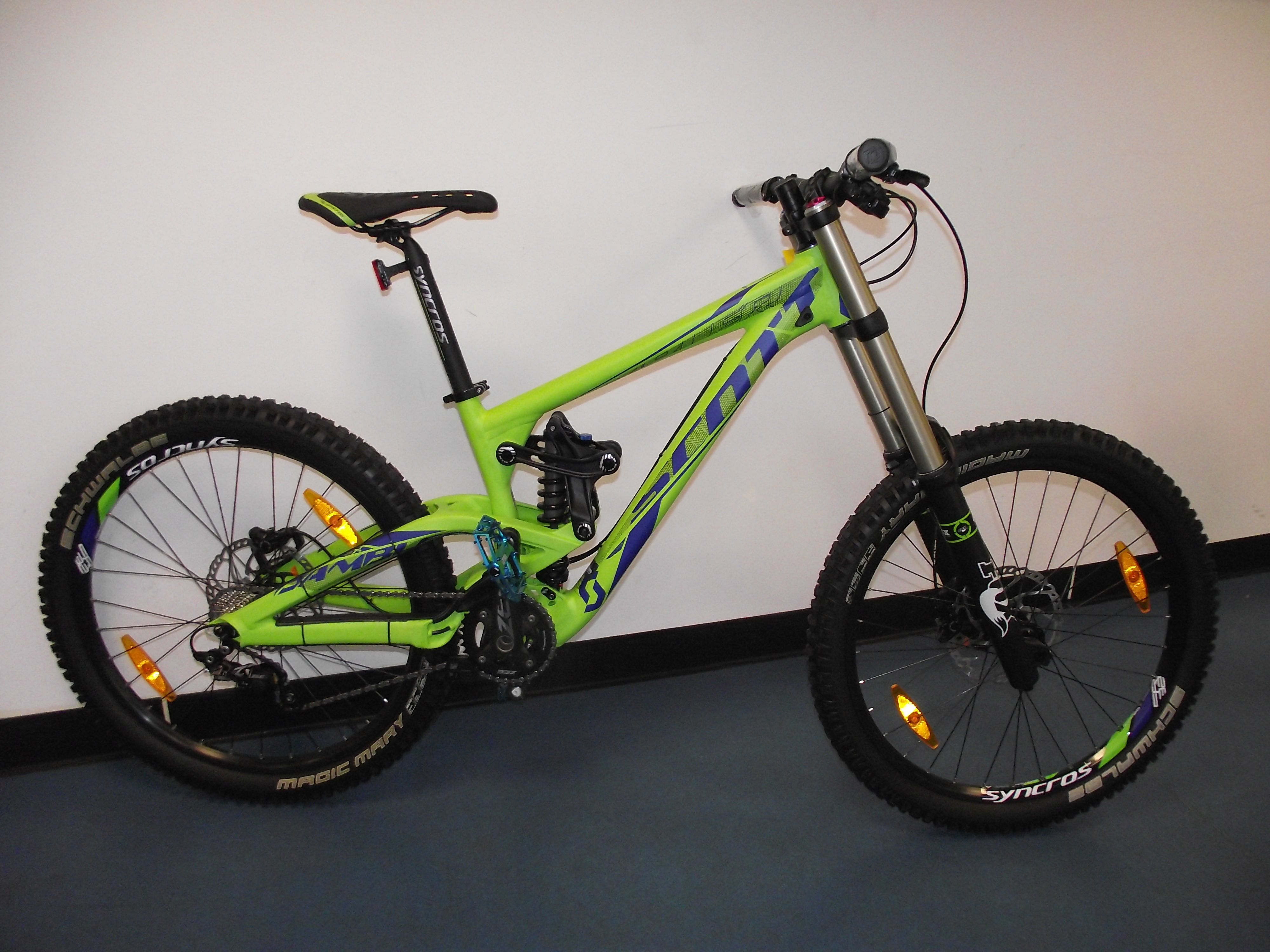 5f3c27e18a6 A very nice 2014 Scott Gambler 20 downhill bike is on the way to a lucky  customer!