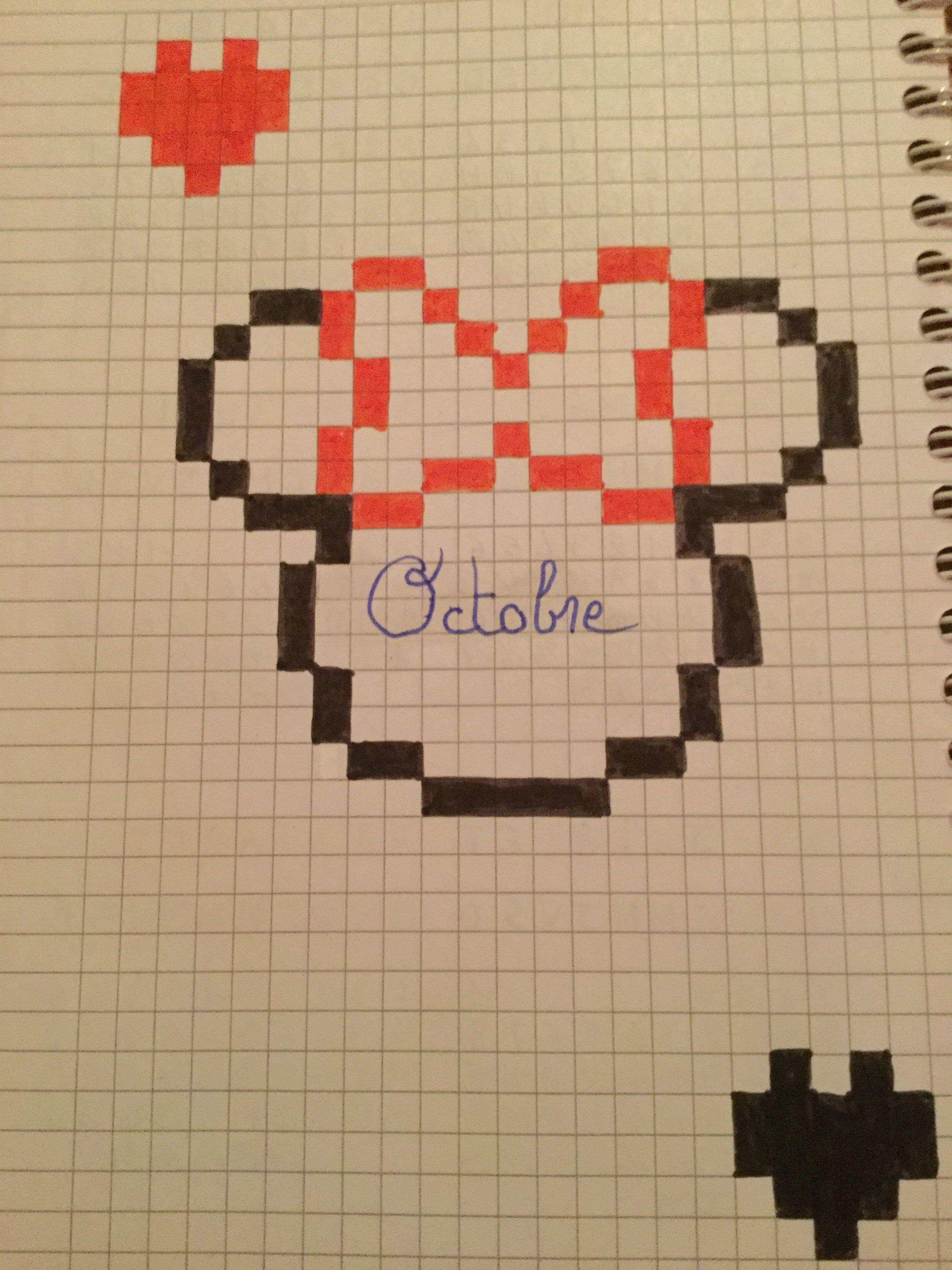 Pin von Fijona Bytyqi auf Pixel art  Muster malen