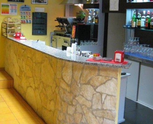 Misure per costruire un banco bar   Bar, Spazi