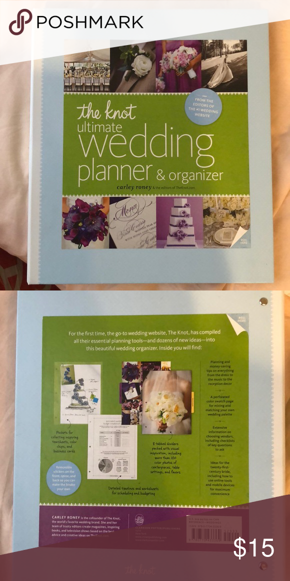 The Knot Ultimate Wedding Planner & Organizer NEW